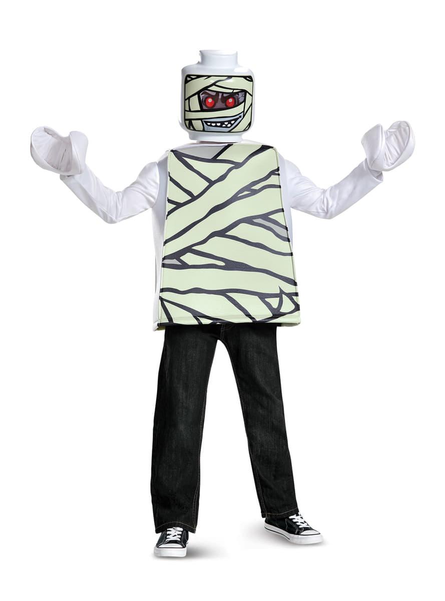 D guisement momie lego enfant funidelia - Deguisement tete de lego ...