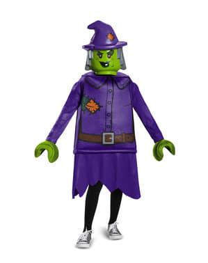 Costume da strega cattiva Lego per bambina