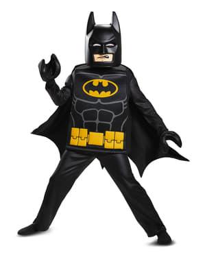 Deluxe Batman Lego Filmen kostyme for gutter