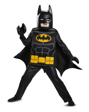 Lego Movie Deluxe Batman costume for boys
