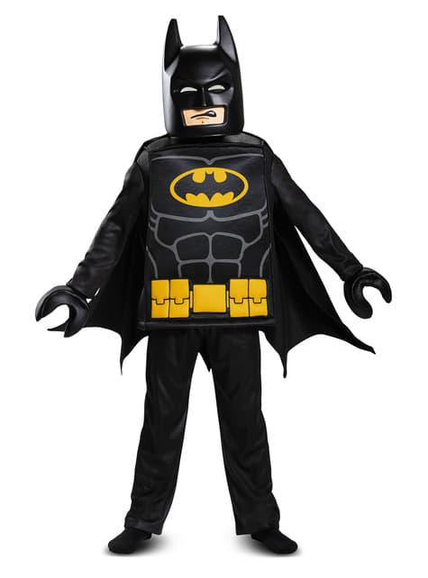 Disfraz de Batman La Lego Película deluxe para niño - hombre