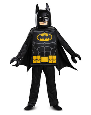 男の子のためのレゴムービーデラックスバットマン衣装