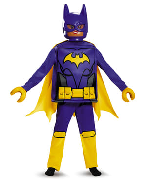 Deluxe Batgirl Batman Lego Filmen kostyme for jenter