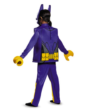 Lego Movie Deluxe Batgirl Batman costume for girls