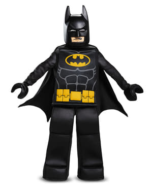 Prestige Batman Lego Movie costume for boys