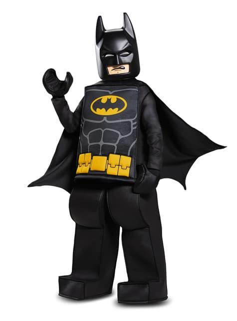 Disfraz de Batman La Lego Película prestige para niño - hombre