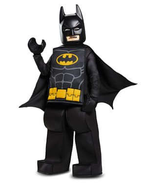Lego Movie Prestige Batman costume for boys