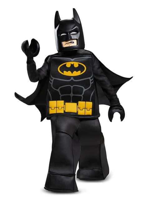 Disfraz de Batman La Lego Película prestige para niño - original