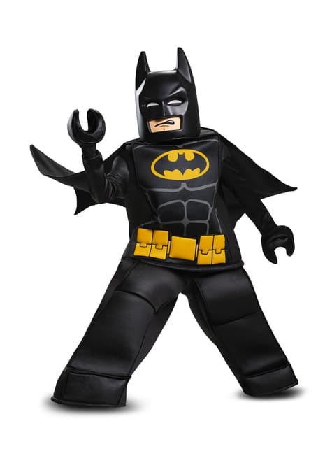 Disfraz de Batman La Lego Película prestige para niño - traje