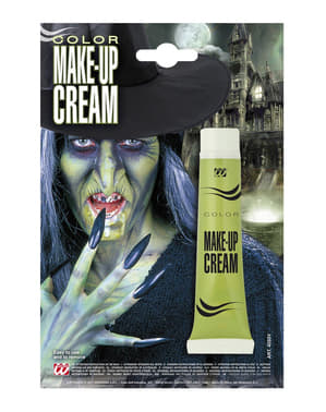 Makeup zelený