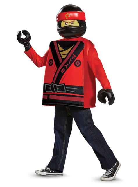 Kostium Kai Lego Ninjago dla chłopca