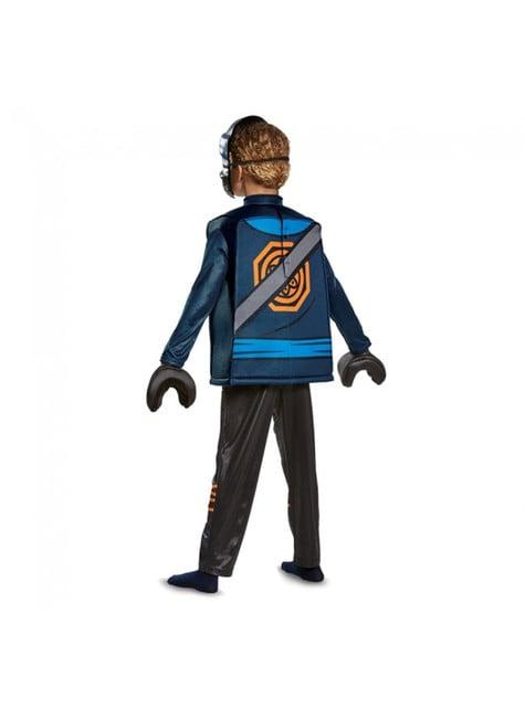 Disfraz de Kai Lego Ninjago deluxe para niño