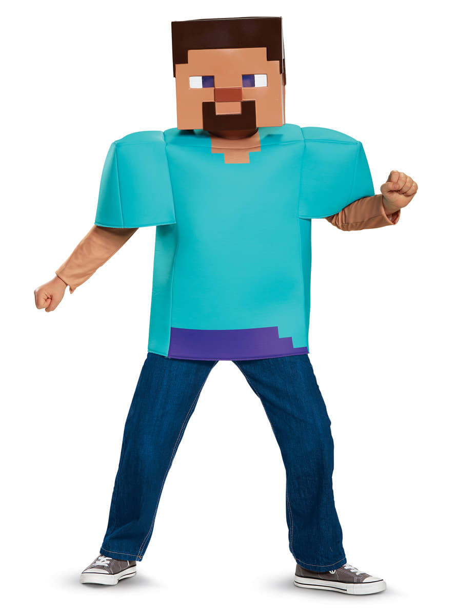 Kostum Steve Minecraft Fur Jungen