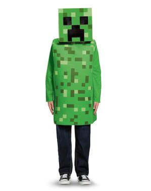 Disfraz de Creeper Minecraft para niño