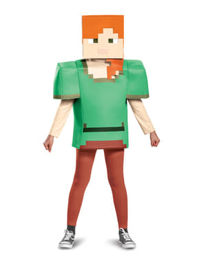 Alex Minecraft girl costume