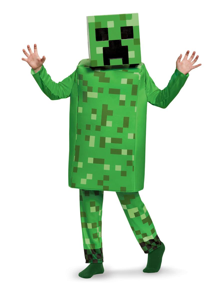 Minecraft Deluxe Creeper Kostume Til B 248 Rn Det Sejeste