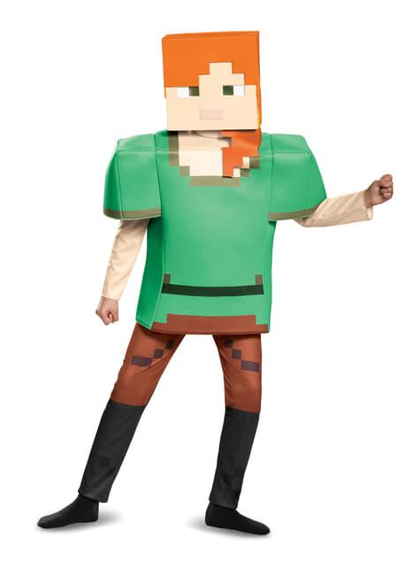 Disfraz de Alex Minecraft deluxe para niña - niña