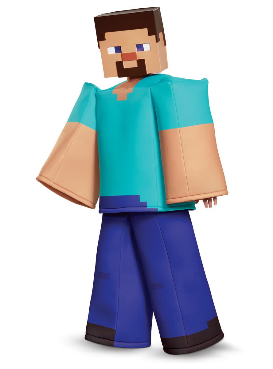 Kostum Steve Minecraft Prestige Fur Jungen