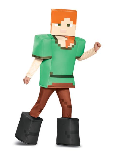Disfraz de Alex Minecraft prestige para niña - niña
