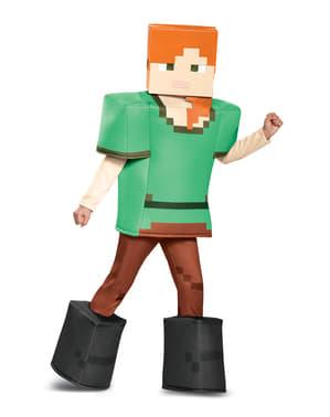 Costum Alex Minecraft prestige pentru fată