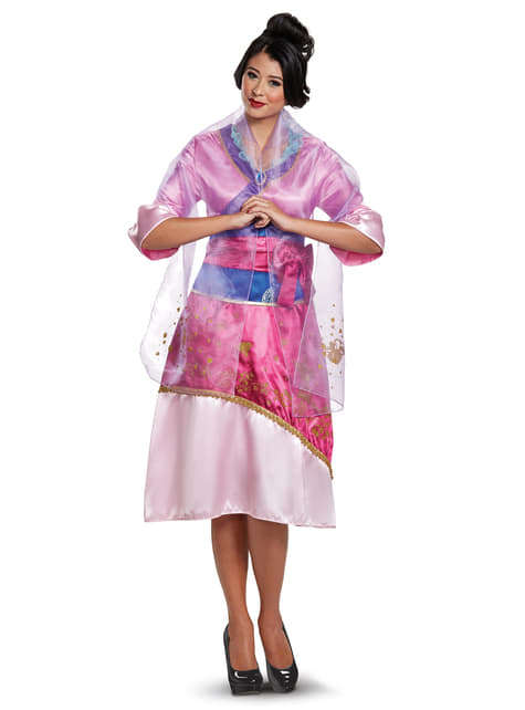 Deluxe Mulan costume for women
