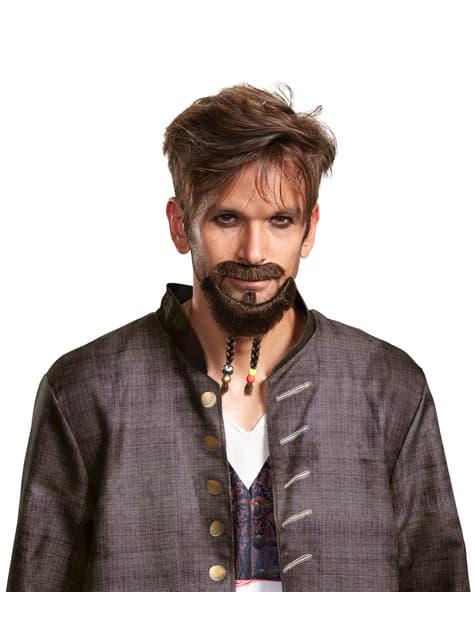 Bigote y barba de Jack Sparrow La Venganza de Salazar