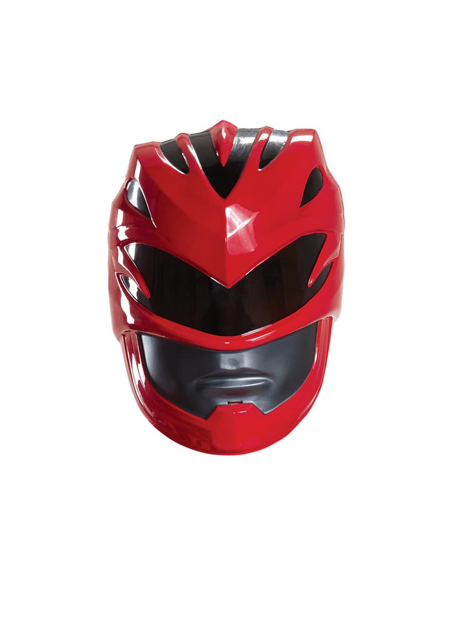 Casco Power Ranger Rojo Movie Para Adulto Comprar Online