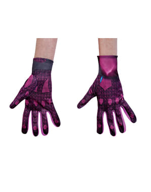 Power Ranger Movie Pink gloves for adults