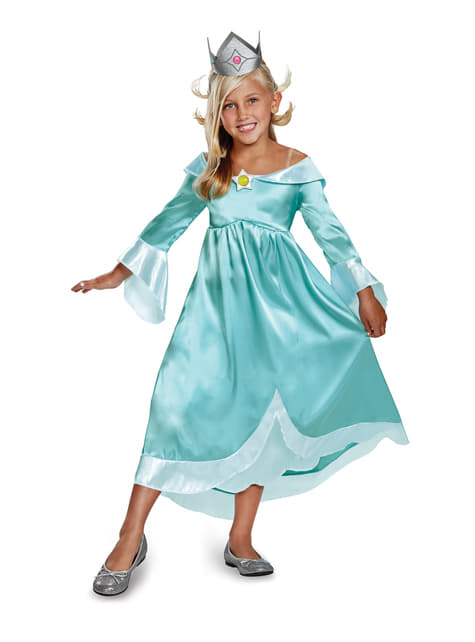 Super Mario Bros Rosalina costume for girls