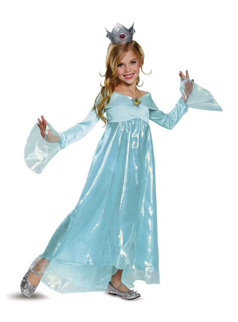 prinzessin rosalina kostüm deluxe für mädchen aus super