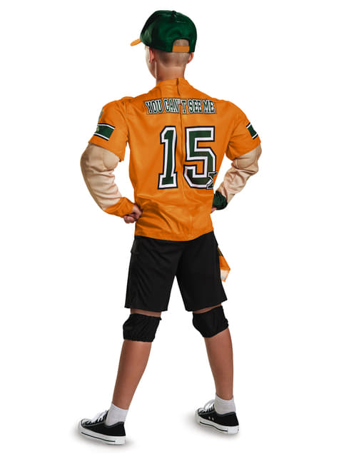 John Cena WWE muscular costume for a child