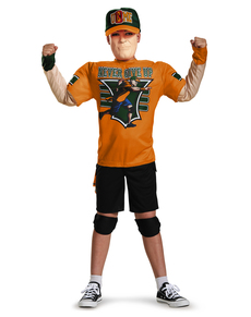 Disfraz de John Cena WWE musculoso para niño ... 0e52f8efb67
