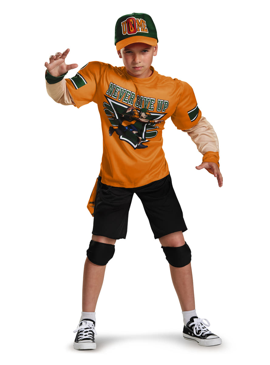 John Cena WWE muscular costume for a child. Fast delivery | Funidelia