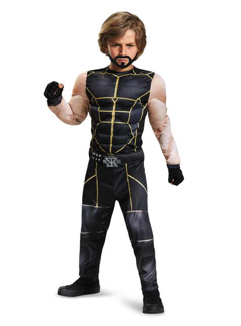 Disfraz de Seth Rollins WWE musculoso para niño