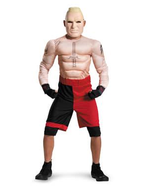 Bir çocuk için Brock Lesnar WWE kas kostümü