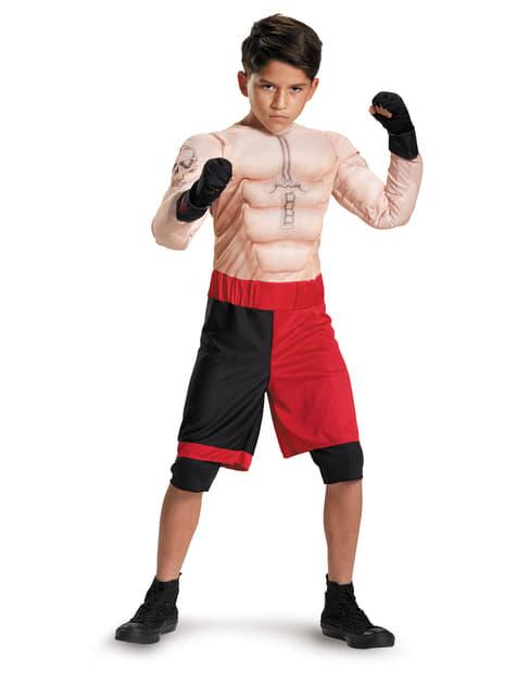 Disfraz de Brock Lesnar WWE musculoso para niño