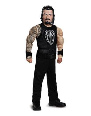 Roman, bir çocuk için WWE kas kostümü kazandı