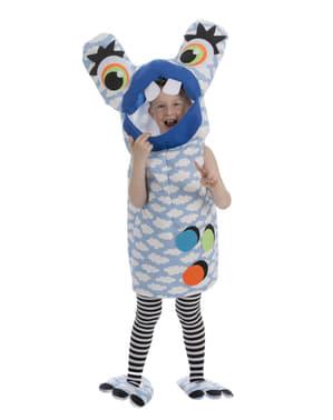 Déguisement monstre fou bleu enfant