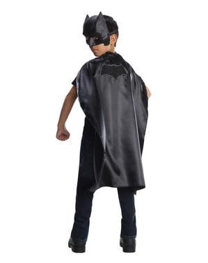 एक बच्चे के लिए बैटमैन बनाम सुपरमैन केप और मास्क किट