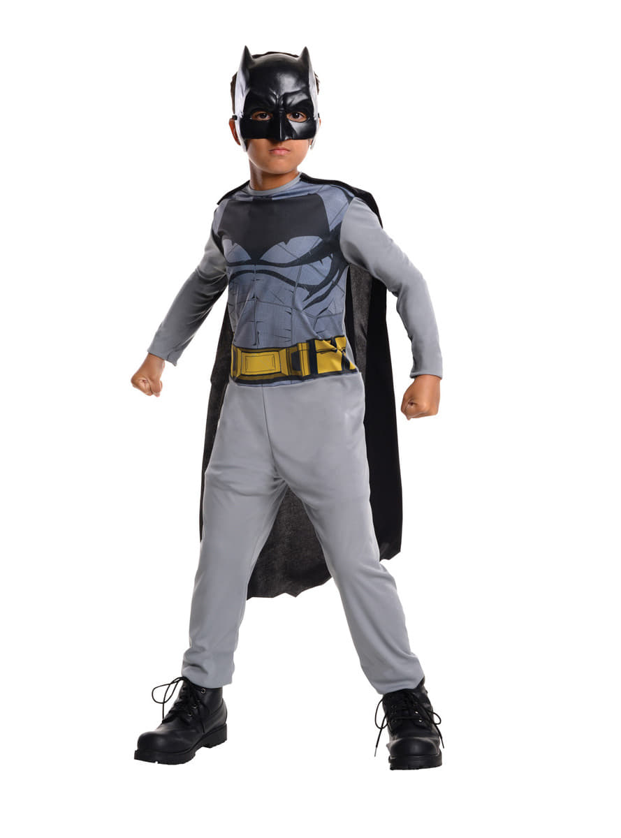 costume batman batman vs superman enfant funidelia. Black Bedroom Furniture Sets. Home Design Ideas