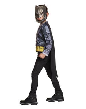 Batmand vs Supermand armeret kostume til børn