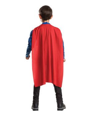 Fato de Super-Homem musculoso Batman vs Super-Homem para menino