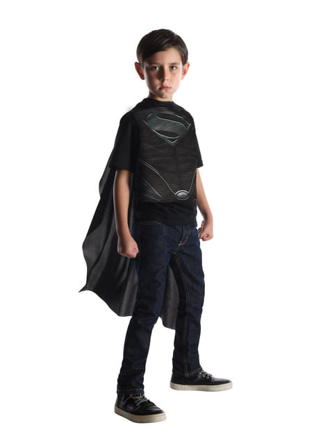 Disfraz reversible de Batman vs Superman para niño