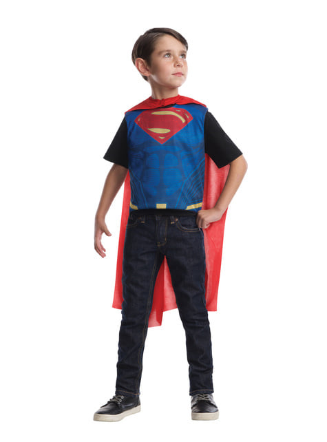 Disfraz reversible de Batman vs Superman para niño - hombre