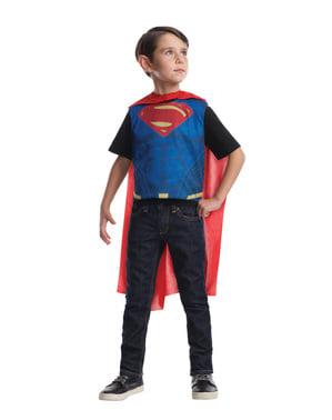 Maskeraddräkt vändbar Batman vs Superman för barn