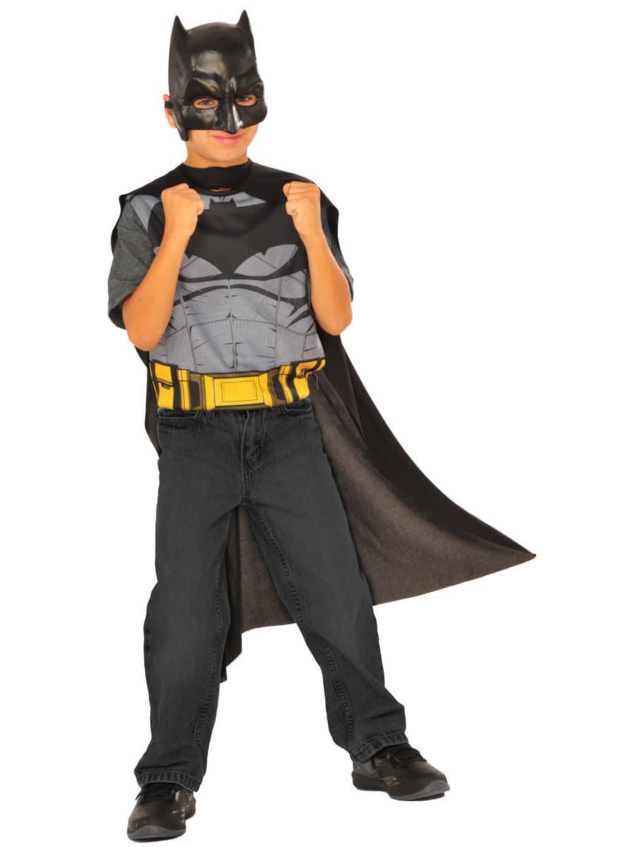 costume r versible batman vs superman enfant funidelia. Black Bedroom Furniture Sets. Home Design Ideas
