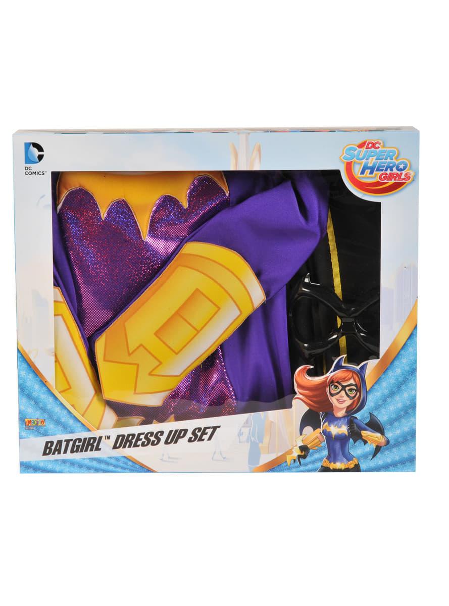 disfraz de batgirl dc super hero girls para ni u00f1a  have fun
