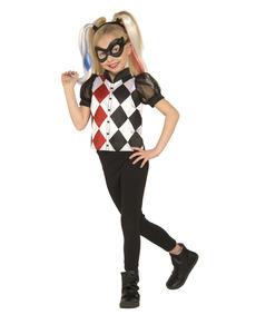 Harley Quinn DC Super Hero Girls klassisk kostume