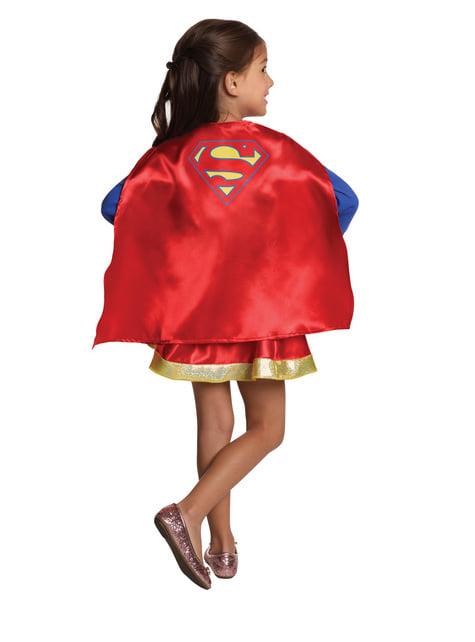 Kit Fato de Supergirl para menina