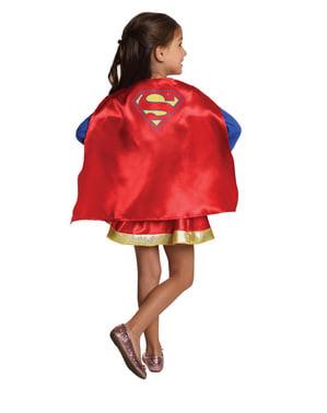 Set Maskeraddräkt Supergirl för barn